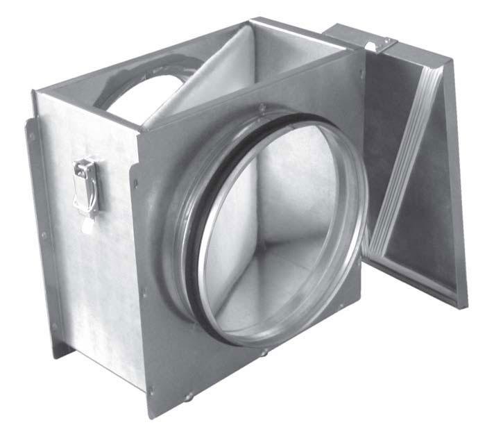 Фильтр кассетный LUFTMEER LM DUCT R 250