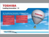 Уникальный online сервис компании Toshiba Air Conditioning